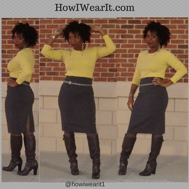 High Waisted Skirt!