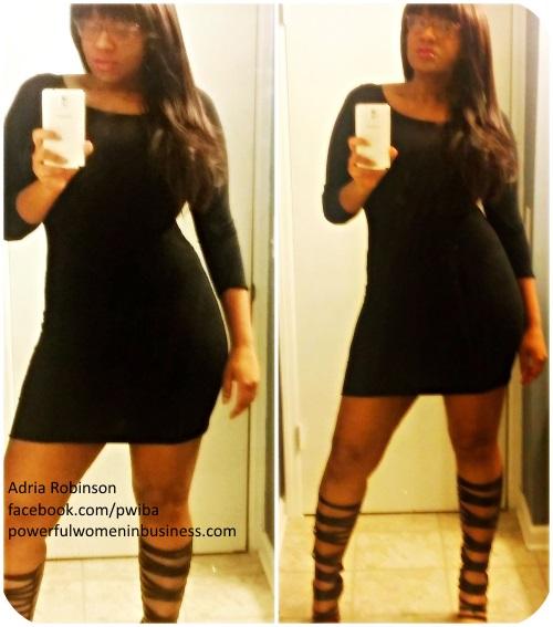 Adria's Little Black Dress