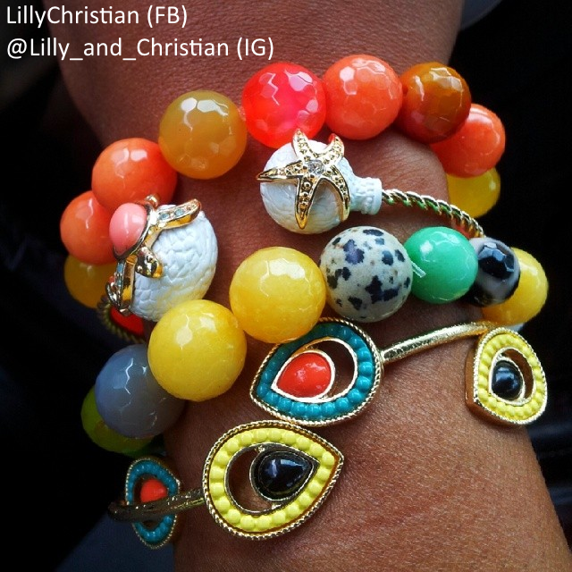 Lillys Arm Candy!