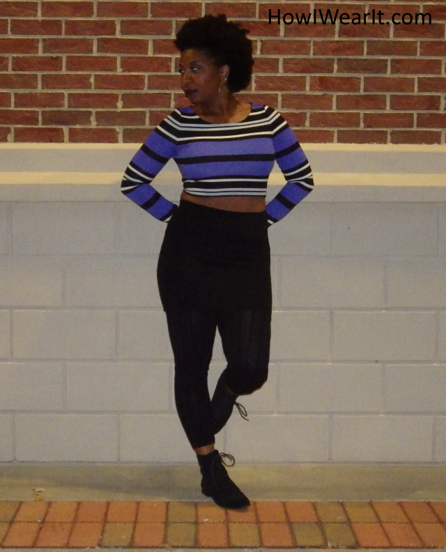 3 Ways To Wear 1 Crop Top
