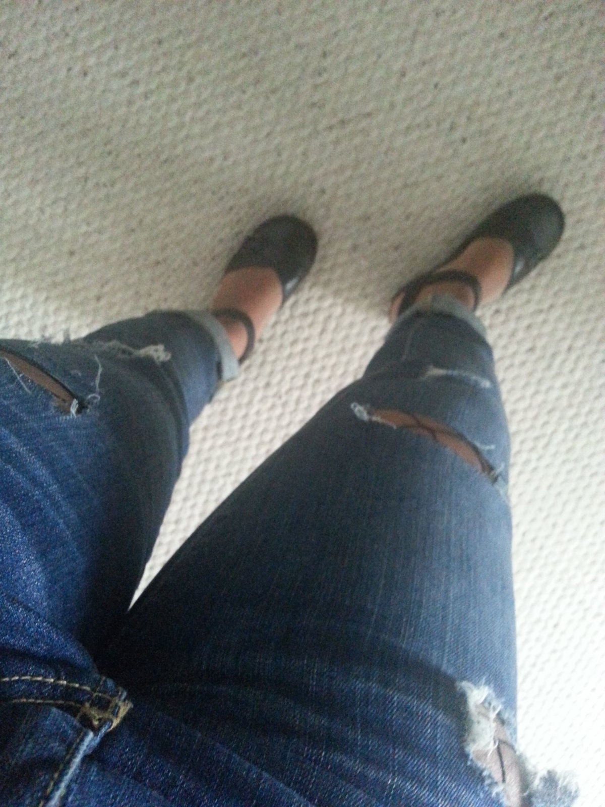 Make the most of ripped jeans
