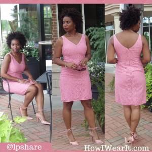 Classic Pink Dress!