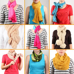 Make a statement with your scarf